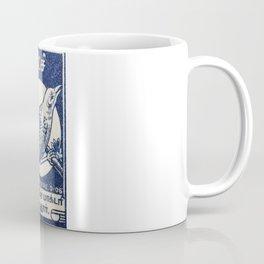 Old Matchbox label #10 Coffee Mug