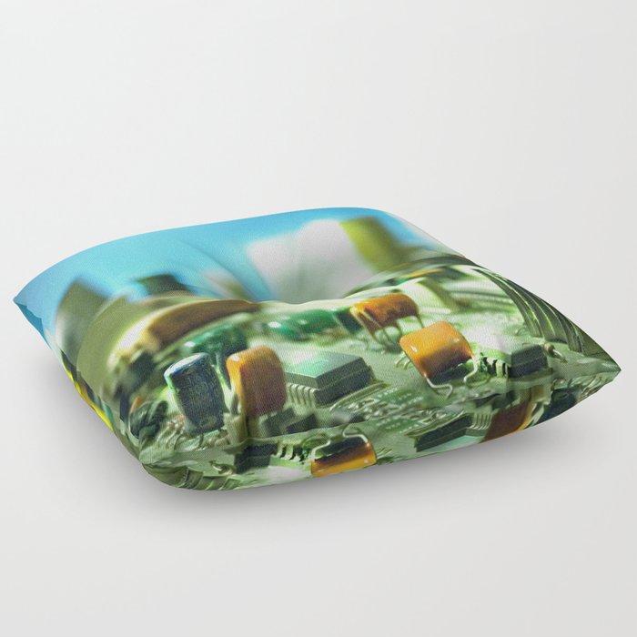 city Floor Pillow