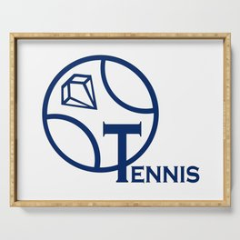 Tennis Serving Tray