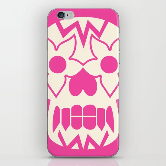 FEEDING GROUND Sugar Skull iPhone & iPod Skin