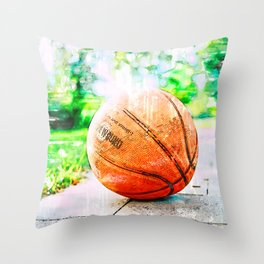 Ball Is Life. For Basketball Lovers Throw Pillow