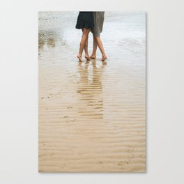 We make our way together Canvas Print