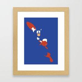 Cap Framed Art Print