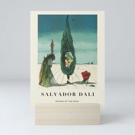 Poster-Salvador Dali-Enigma of the Rose. Mini Art Print