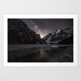 Rising Milky Way Art Print