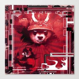 Red Panda Ronin Canvas Print