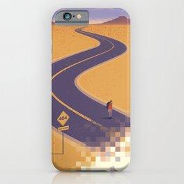 No path found iPhone Case