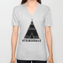 Tribe Goals Unisex V-Neck