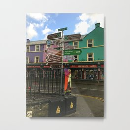 Kenmare, Ireland Metal Print
