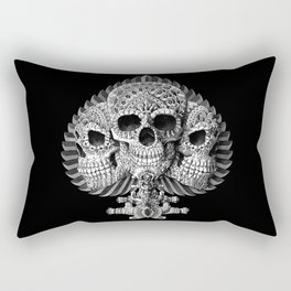 Skull Spade Rectangular Pillow