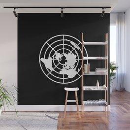 Plane World Wall Mural