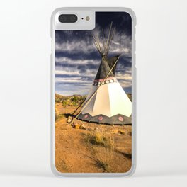 The WigWam  Clear iPhone Case