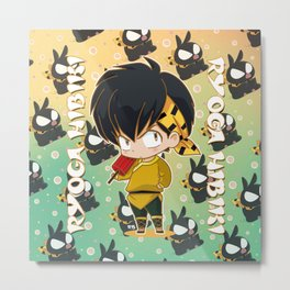 Chibi Ryoga Metal Print