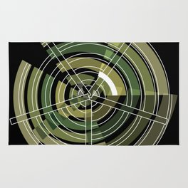 Exploded view camouflage Rug