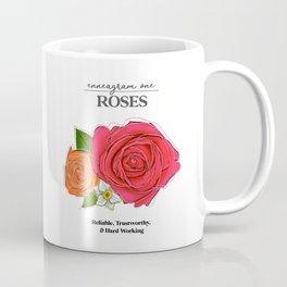 Enneagram 1: Roses Coffee Mug