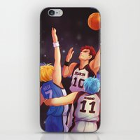 kuroko iPhone & iPod Skins featuring Jump by AndytheLemon