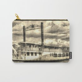 The Elizabethan Paddle Steamer Vintage Carry-All Pouch