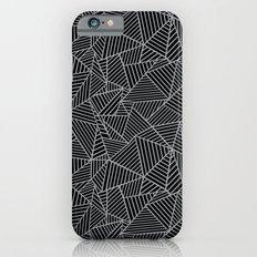 Ab 2 R Black and Grey iPhone 6s Slim Case