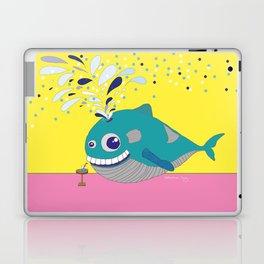 Hugo the Whale Laptop & iPad Skin