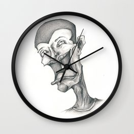 Embrace The Pain Wall Clock