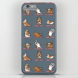 English Bulldog Yoga iPhone Case