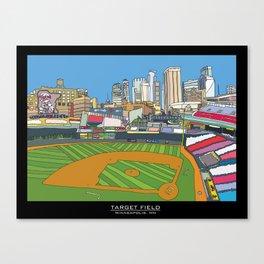 Minnesota Twins Target Field Canvas Print
