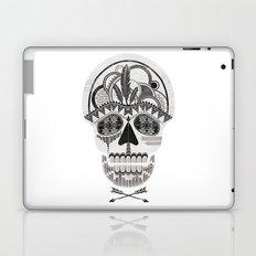 AZTEC SKULL B/W  Laptop & iPad Skin