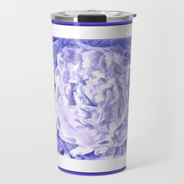 The Gathering Of The Peonies And Butterflies Travel Mug