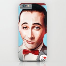 Pee-Wee Herman Is Back iPhone Case
