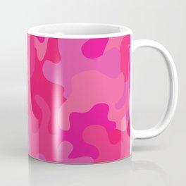 Hot Pink Camo Coffee Mug