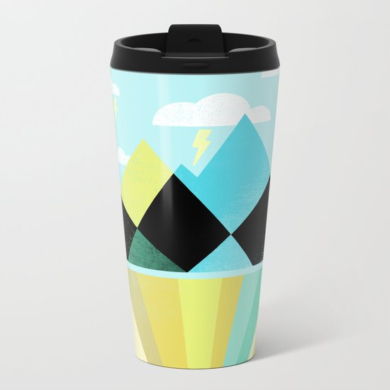Void Dweller Metal Travel Mug