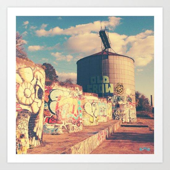 River District. Art Print