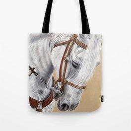 Horse Portrait 01 Tote Bag