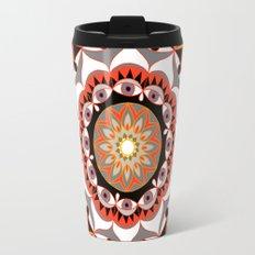 My Solar Plexus Mandhala | Secret Geometry | Energy Symbols Travel Mug
