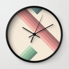 Vintage Geometric Wall Clock