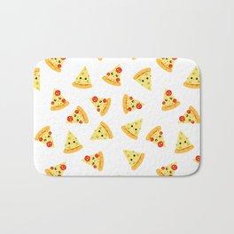 Cute pizza Bath Mat