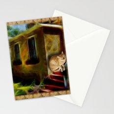 casa de gato Stationery Cards