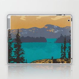 Killarney Park Poster Laptop & iPad Skin