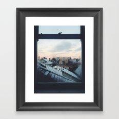 Crisp Mornings Framed Art Print