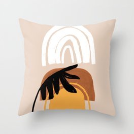 Palm desert Throw Pillow