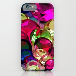 Crytals by Lika Ramati iPhone Case