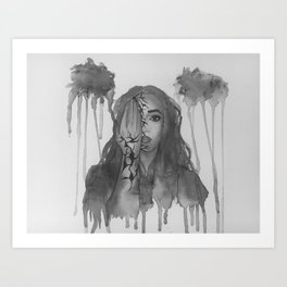 Hidden Secrets 2 Art Print