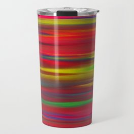 Astratto multicolore Travel Mug
