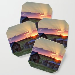 Home Town Sunset Coaster