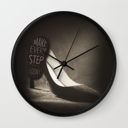 Make EVERY  steps count Wall Clock