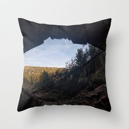 Ruinas Throw Pillow