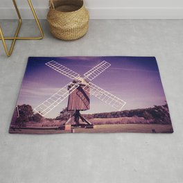 Spocott Windmill English Post Style Historic Maryland Dorchester County Rug
