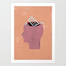 shoppinghead... Art Print
