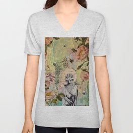 Waiting For Her Moment Unisex V-Neck