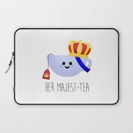 Her Majest-tea Laptop Sleeve